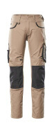 13079-230-1809 Pants with kneepad pockets - dark anthracite/black