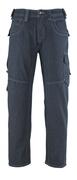 13379-207-B52 Jeans with thigh pockets - denim blue