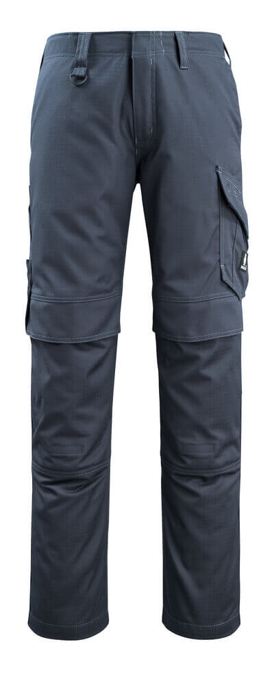 13679-216-010 Pants with kneepad pockets - dark navy