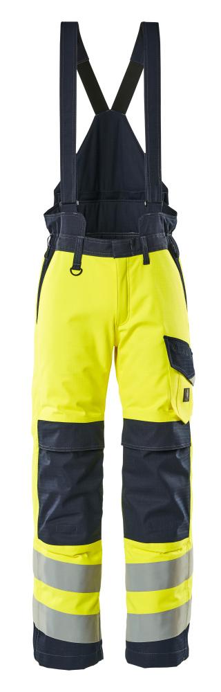 13892-217-17010 Winter Pants - hi-vis yellow/dark navy