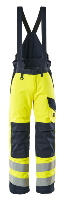 13892-217-17010 Winter Pants - hi-vis yellow/dark navy