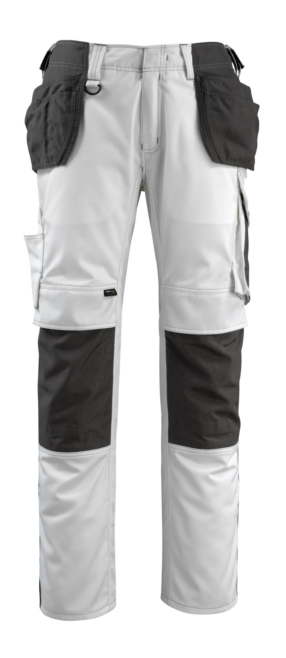 14031-203-0618 Pants with holster pockets - white/dark anthracite