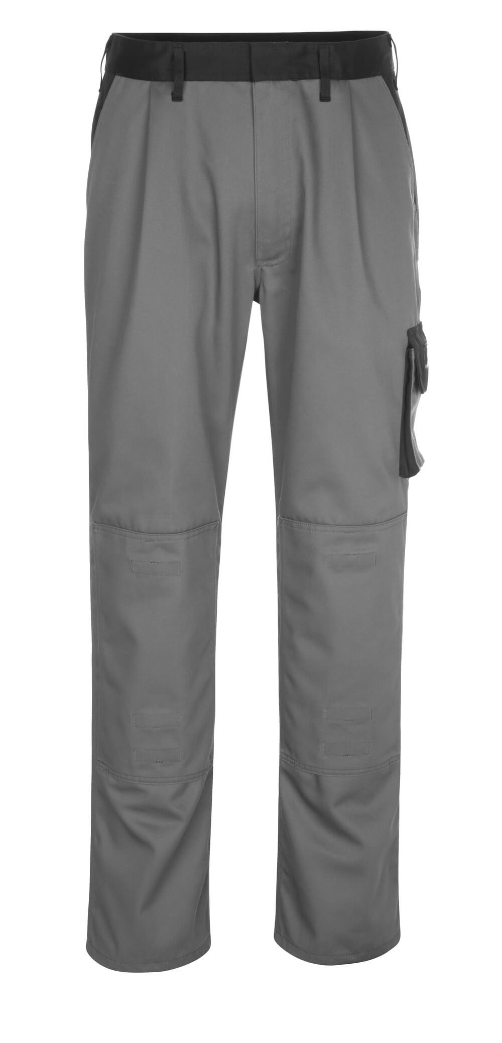 14179-442-8889 Pants with kneepad pockets - anthracite/black