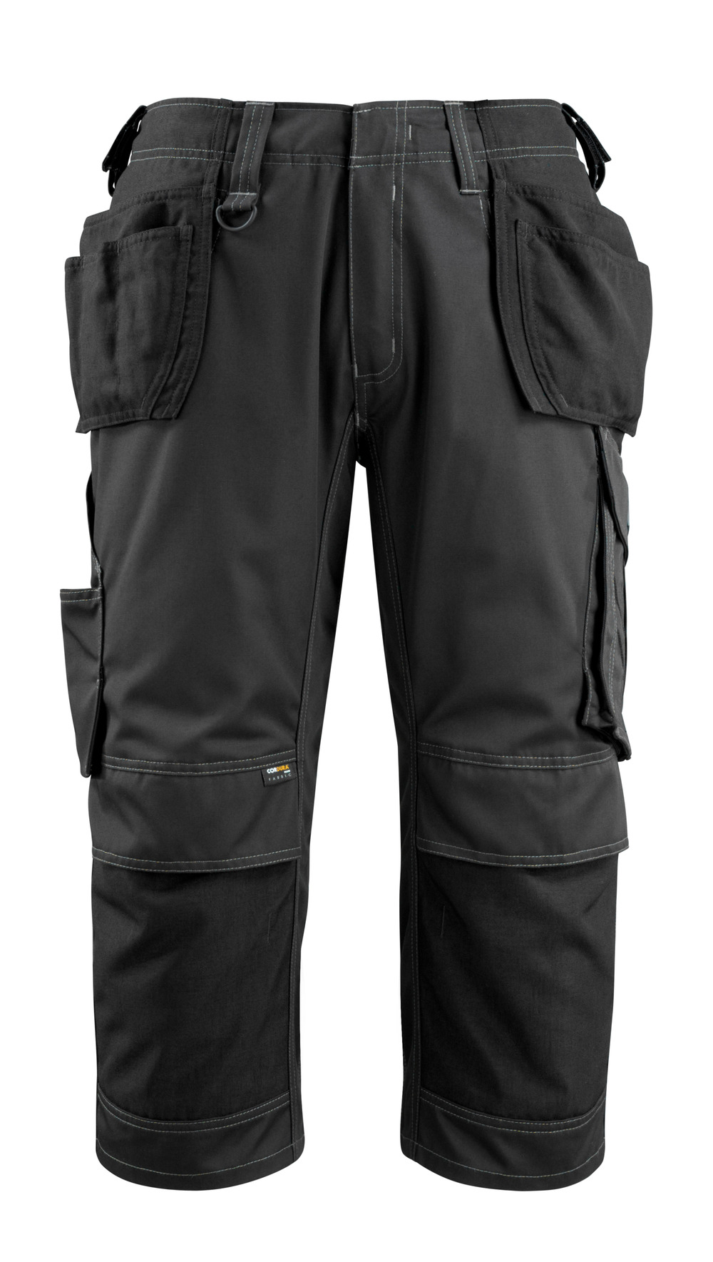 14449-442-09 ¾ Length Pants with kneepad pockets and holster pockets - black