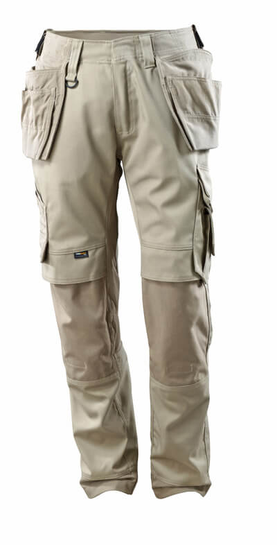 15031-010-010 Pants with kneepad pockets and holster pockets - dark navy