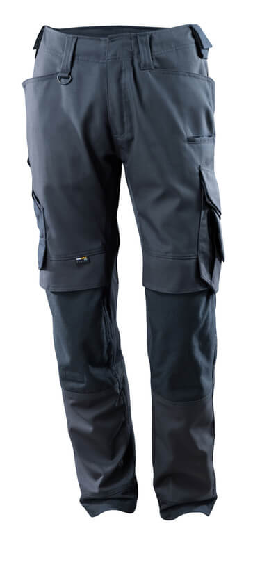 15079-010-010 Pants with kneepad pockets - dark navy