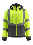 15502-246-1718 Softshell Jacket - hi-vis yellow/dark anthracite