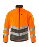 15503-259-1418 Fleece Jacket - hi-vis orange/dark anthracite