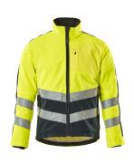 15503-259-17010 Fleece Jacket - hi-vis yellow/dark navy