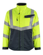 15509-860-17010 Jacket - hi-vis yellow/dark navy