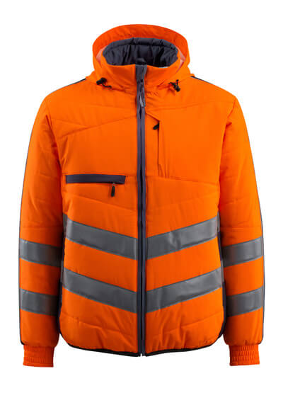 15515-249-14010 Jacket - hi-vis orange/dark navy