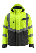 15535-231-1709 Winter Jacket - hi-vis yellow/black