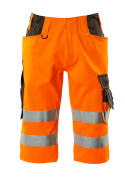 15549-860-1418 ¾ length pants - hi-vis orange/dark anthracite