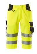 15549-860-1709 ¾ length pants - hi-vis yellow/black