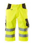 15549-860-1718 ¾ length pants - hi-vis yellow/dark anthracite