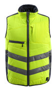 15565-249-17010 Winter Gilet - hi-vis yellow/dark navy