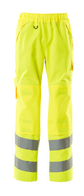 15590-231-14 Over pants with kneepad pockets - hi-vis orange