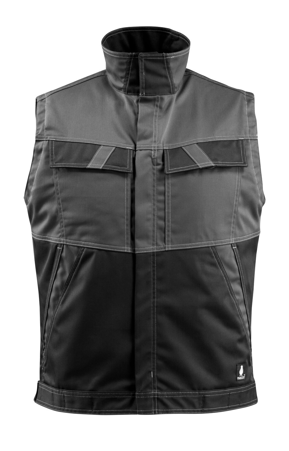 15754-330-1809 Gilet - dark anthracite/black
