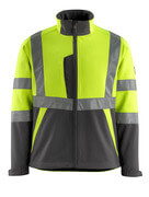 15902-253-1718 Softshell Jacket - hi-vis yellow/dark anthracite