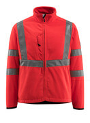 15903-270-222 Fleece Jacket - hi-vis red