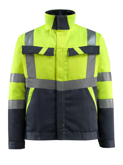 15909-948-14010 Jacket - hi-vis orange/dark navy