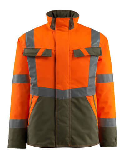 Mascot MASCOT® Penrith hi-vis orange/moosgrün