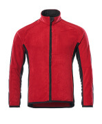 16003-302-0209 Fleece Jacket - red/black