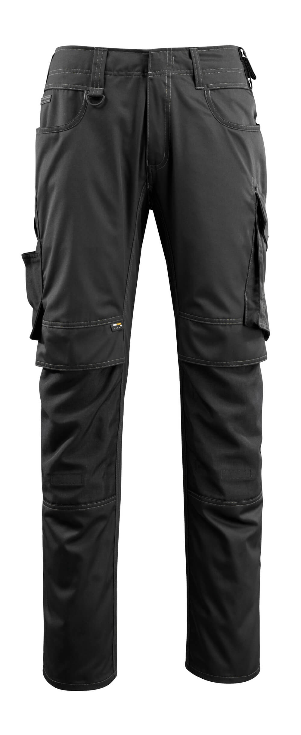 16079-230-09 Pants with kneepad pockets - black