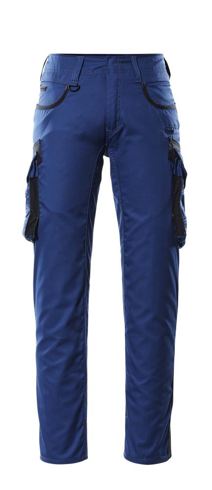 16279-230-11010 Pants with thigh pockets - royal/dark navy