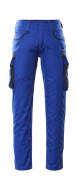 16279-230-11010 Pants with thigh pockets - royal/dark navy