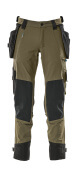 17031-311-010 Pants with holster pockets - dark navy