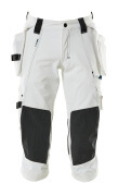 17049-311-06 ¾ Length Pants with kneepad pockets and holster pockets - white