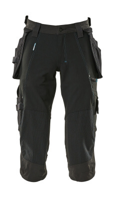 17049-311-010 ¾ Length Pants with kneepad pockets and holster pockets - dark navy