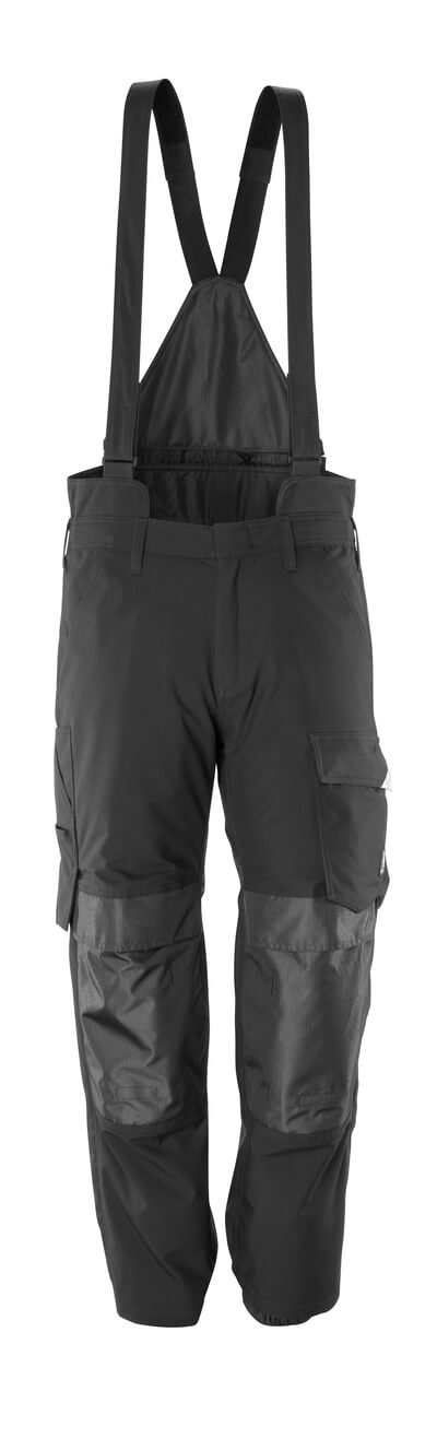 17090-222-09 Over pants with kneepad pockets - black