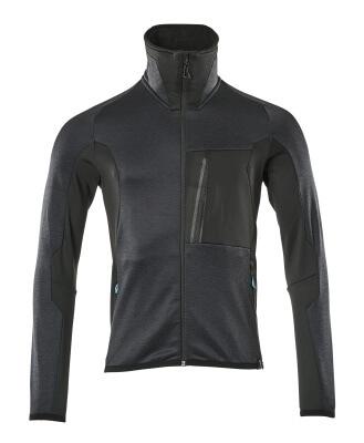 Fleece Jumper with zipper, modern fit