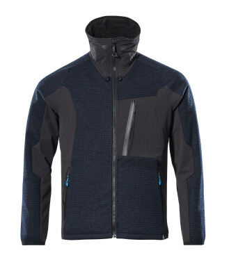 Knitted Jacket with membrane