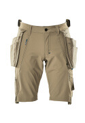 17149-311-55 Shorts with holster pockets - light khaki