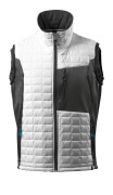 17165-318-0618 Winter Gilet - white/dark anthracite
