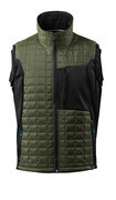 17165-318-3309 Winter Gilet - moss green/black