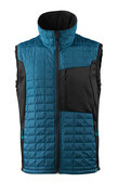17165-318-4409 Winter Gilet - dark petroleum/black