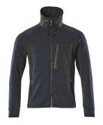 17484-319-01009 Sweatshirt with zipper - dark navy/black
