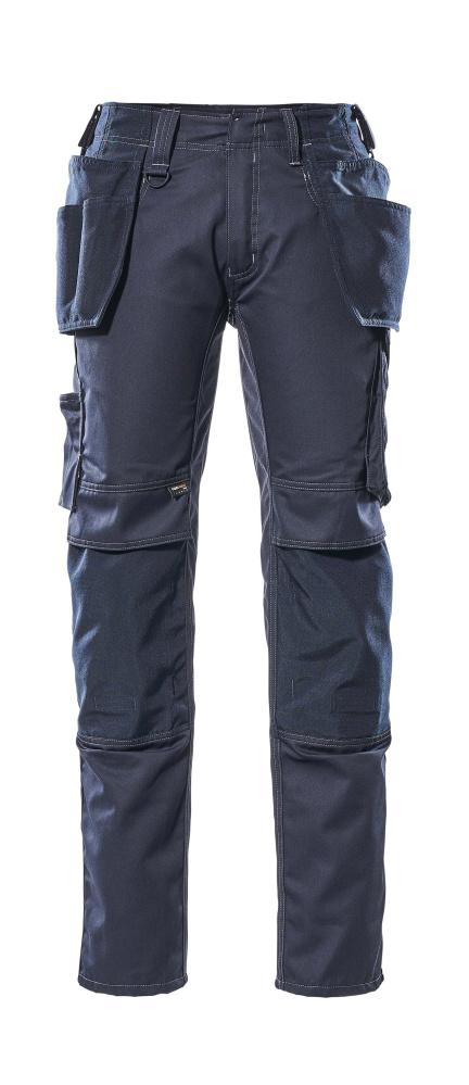 17731-442-010 Pants with kneepad pockets and holster pockets - dark navy