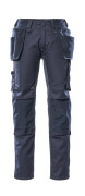 17731-442-010 Pants with kneepad pockets and holster pockets - dark navy