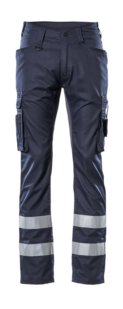 17879-230-010 Pants with thigh pockets - dark navy