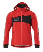 18001-249-20209 Outer Shell Jacket - traffic red/black
