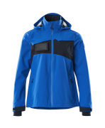 18011-249-91010 Outer Shell Jacket - azure blue/dark navy