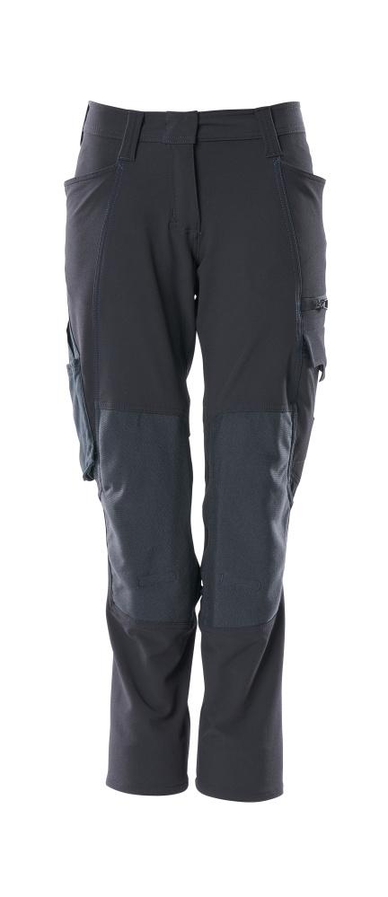 18078-511-010 Pants with kneepad pockets - dark navy