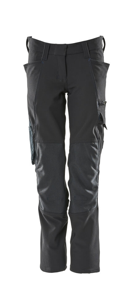 18088-511-010 Pants with kneepad pockets - dark navy