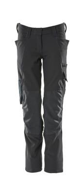 18088-511-010 Pants with kneepad pockets - dark navy