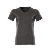 18092-801-1809 T-shirt - dark anthracite-flecked/black
